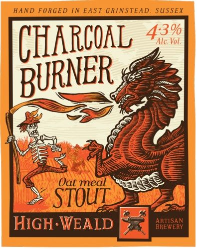 Charcoal Burner 4.3% - High Weald Brewery