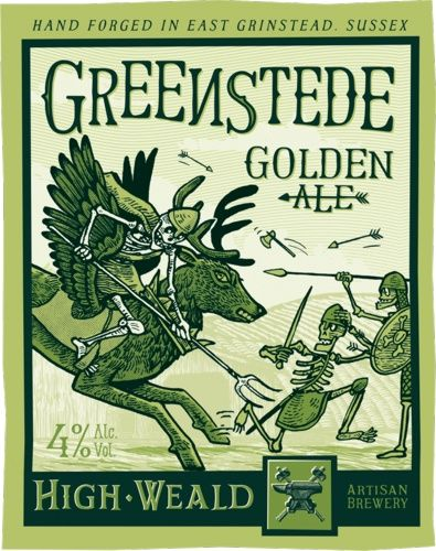Greenstede Golden Ale 4.0% - High Weald